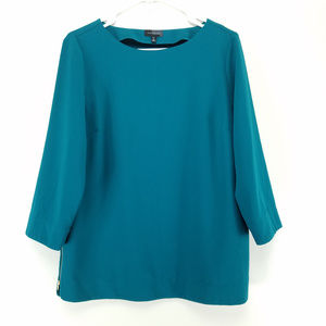 The Limited Medium Tall Top 3/4 Sleeves Teal